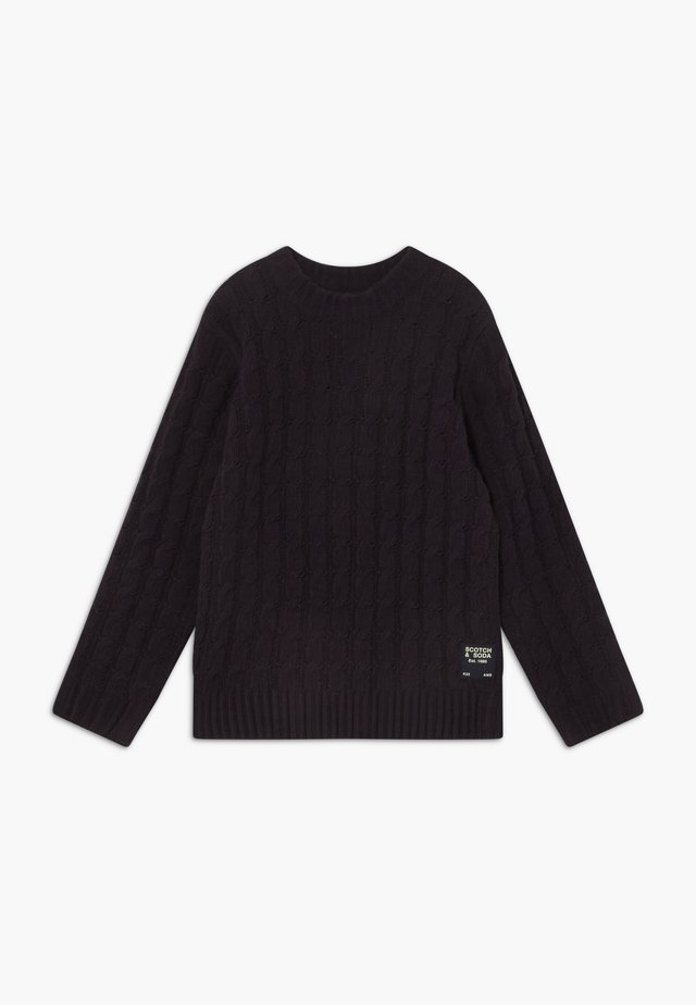 CREWNECK PULL IN  - Maglione - night