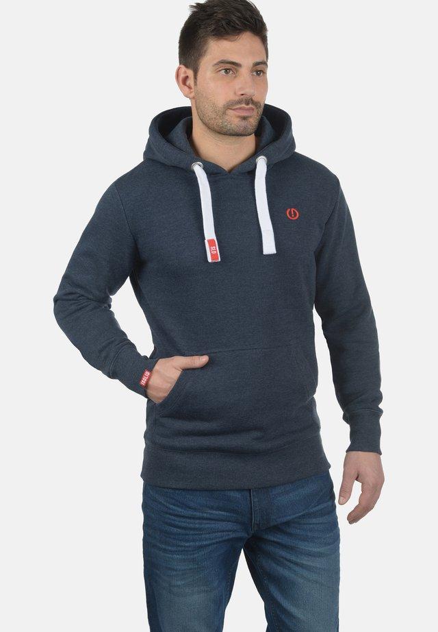 BENN - Hoodie - med grey