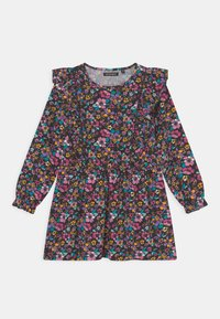 Lemon Beret - SMALL GIRLS  - Jersey dress - black - 0