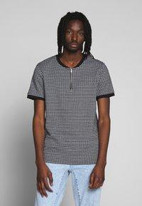 Brave Soul - SIAMESE - T-shirt print - black/white - 0