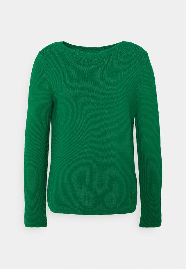 LONGSLEEVE STAND UP - Sweter - azure green