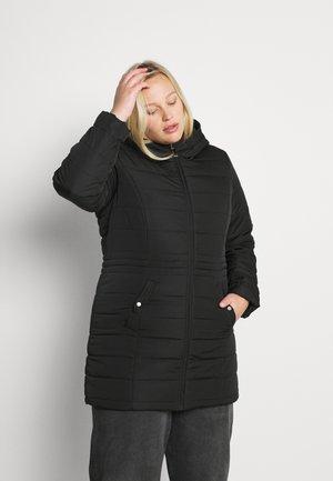 VMSIMO HOODY - Krátký kabát - black