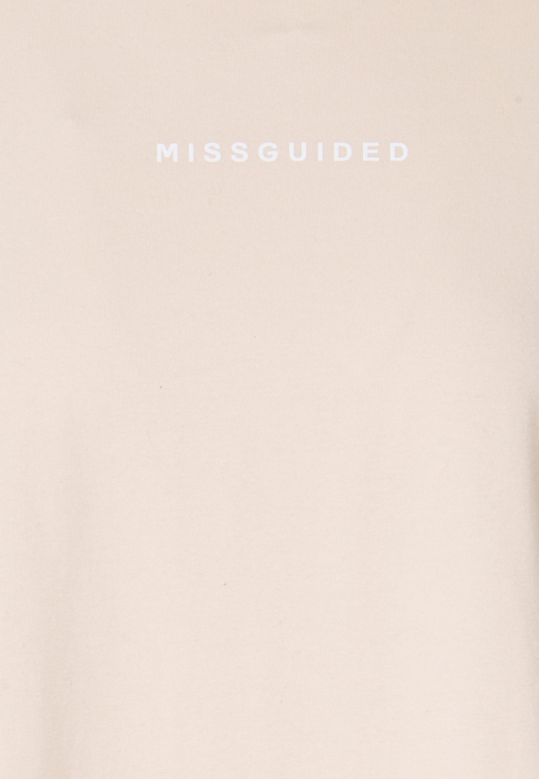Missguided Washed 2 Pack - T-shirts Med Print Multi/sand