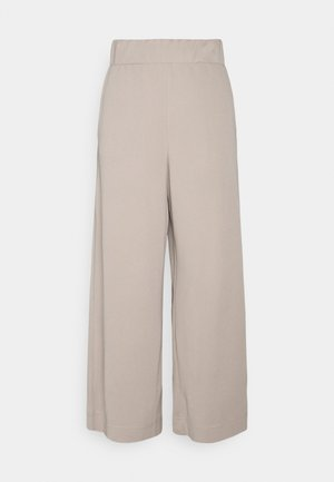 CILLA TROUSERS - Bukse - mole dusty light