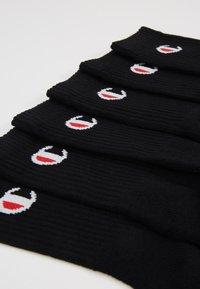 Champion - CREW SOCKS 6 PACK - Sportovní ponožky - black - 2