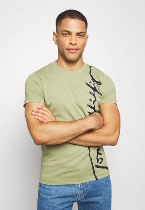 COOL SIGNATURE TEE - T-shirt z nadrukiem - green
