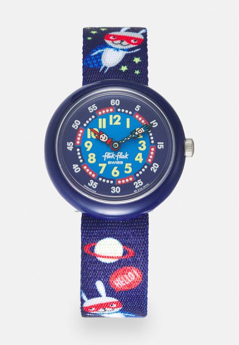 Flik Flak - SUPER HOPPER - Hodinky - blue