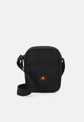 SELENA SMALL ITEM BAG UNISEX - Taška spříčným popruhem - black