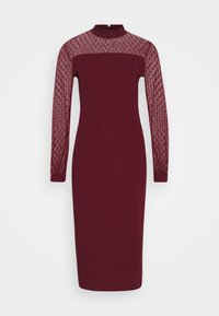 WAL G. - MIDI DRESS - Cocktail dress / Party dress - wine - 0