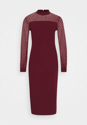 MIDI DRESS - Cocktail dress / Party dress - wine