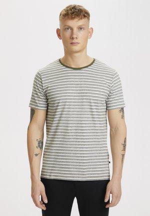 Print T-shirt - olive night