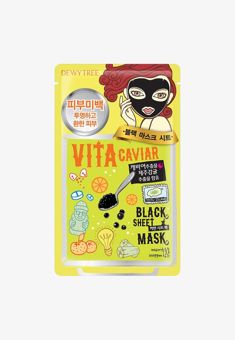 DEWYTREE - VITA CAVIAR BLACKMASK - Masque visage - -