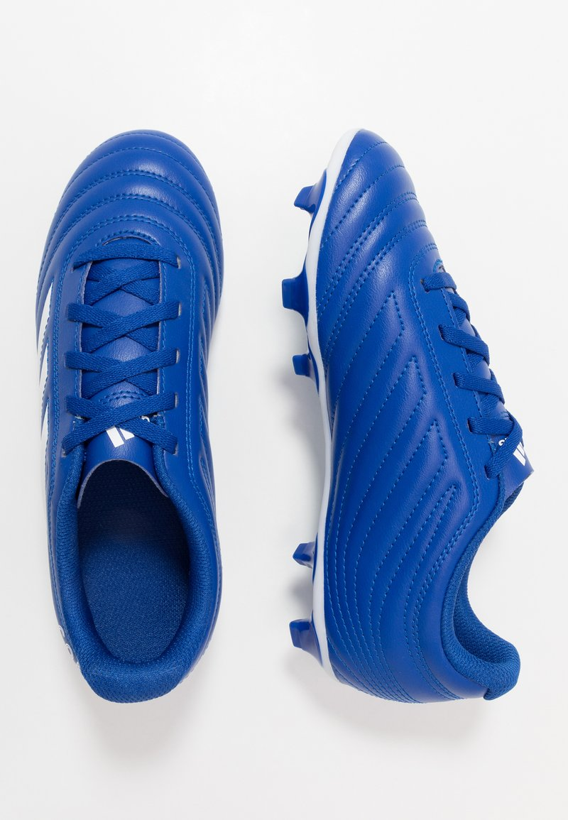 adidas Performance - COPA 20.4 FG - Moulded stud football boots - royal blue/footwear white