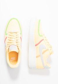 Nike Sportswear - AIR FORCE 1 - Trainers - melon tint/summit white/poison green/pink blast/hyper crimson/blue fury - 1
