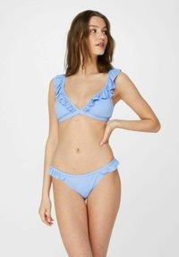 Pieces - Bikini bottoms - vista blue - 1