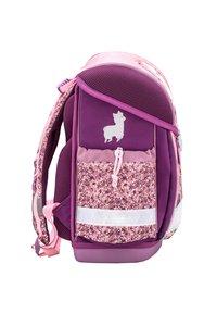 Belmil - MIT INTEGRIERTEM BRUSTGURT - School bag - hellrosa - 3