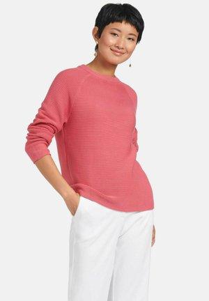 RUNDHALS - Pullover - flamingo