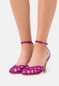 Repetto - SALVADOR - Sandals - magenta - 0