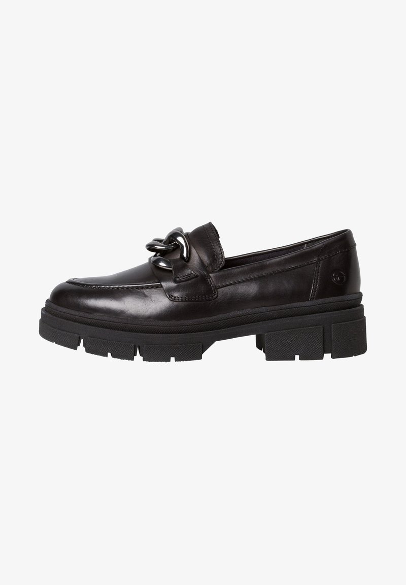 Tamaris - Mocassins - black leather