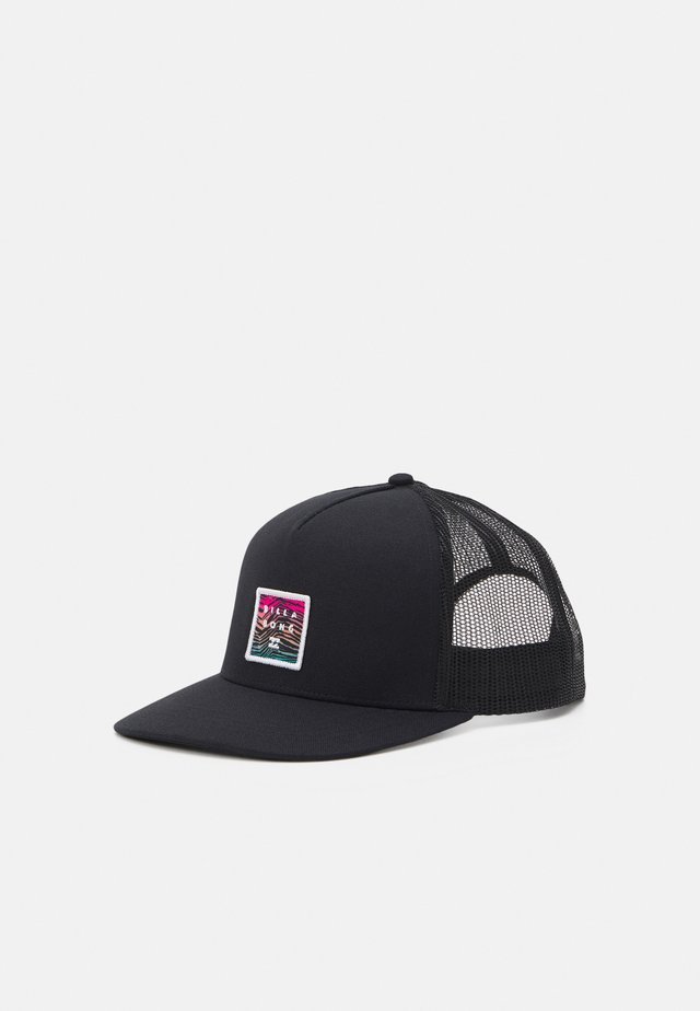 STACKED TRUCKER UNISEX - Kšiltovka - black