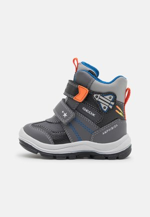 FLANFIL BOY ABX - Winter boots - dark grey/black