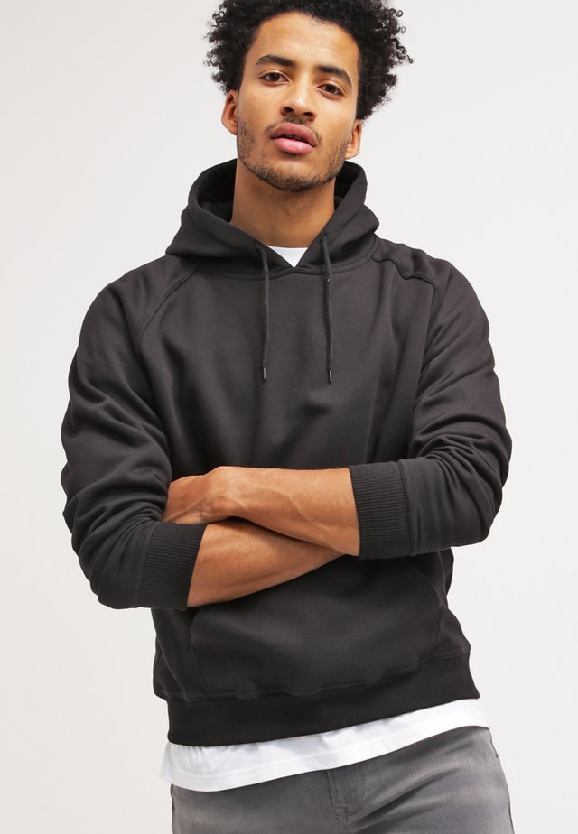 BLANK HOODY - Hættetrøjer - black