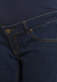 Forever Fit - STRAIGHT LEG CROP - Straight leg jeans - indigo - 2