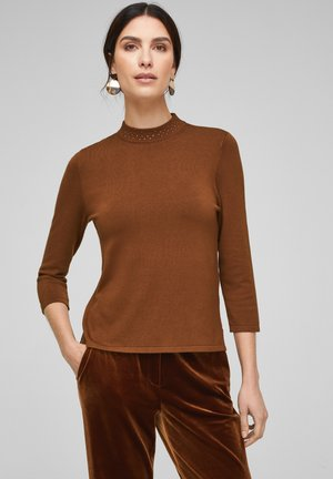 TRUI - Jumper - brown