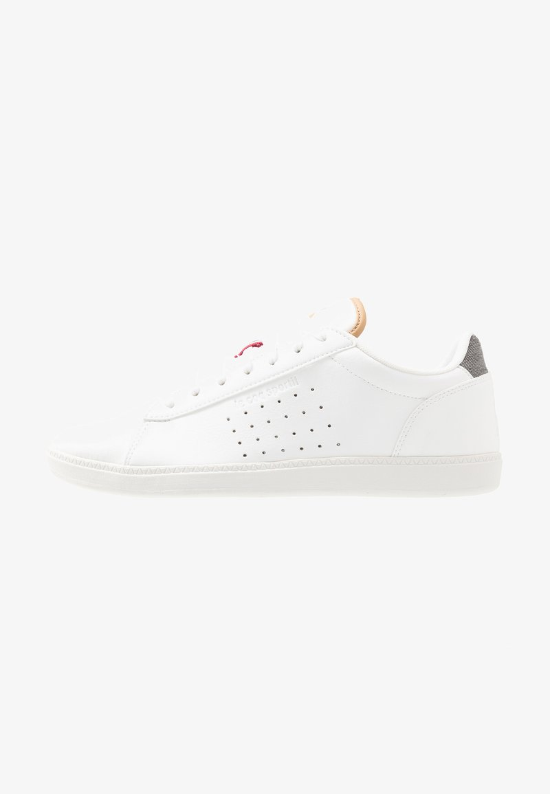 le coq sportif - COURTSTAR - Zapatillas - optical white/grey