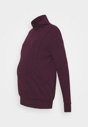 DINA - Sweater - burgundy