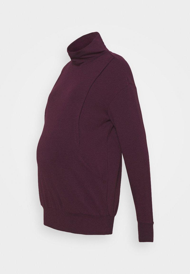 Seraphine - DINA - Sweatshirt - burgundy