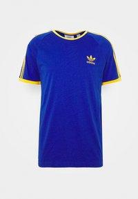 adidas Originals - 3 STRIPES TEE UNISEX - Print T-shirt - royblu/actgol - 4