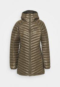 ATMOSPHERE COAT - Down jacket - granite