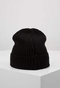 Tommy Jeans - BASIC FLAG BEANIE UNISEX - Muts - black - 2