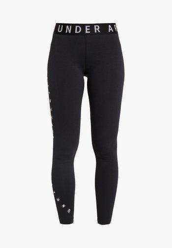 FAVORITE GRAPHIC LEGGING - Leggings - black/white