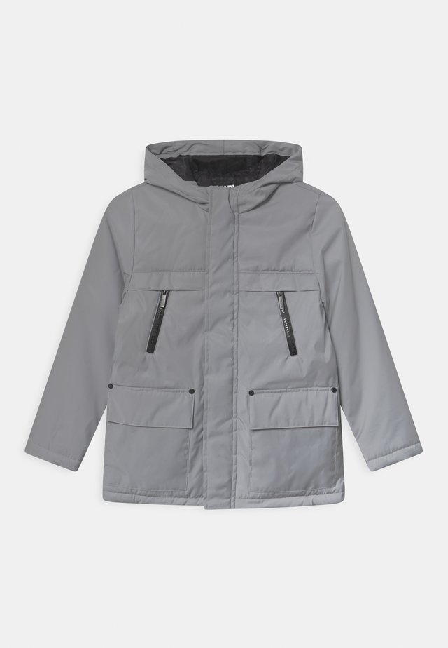 HOODED  - Kurzmantel - light grey