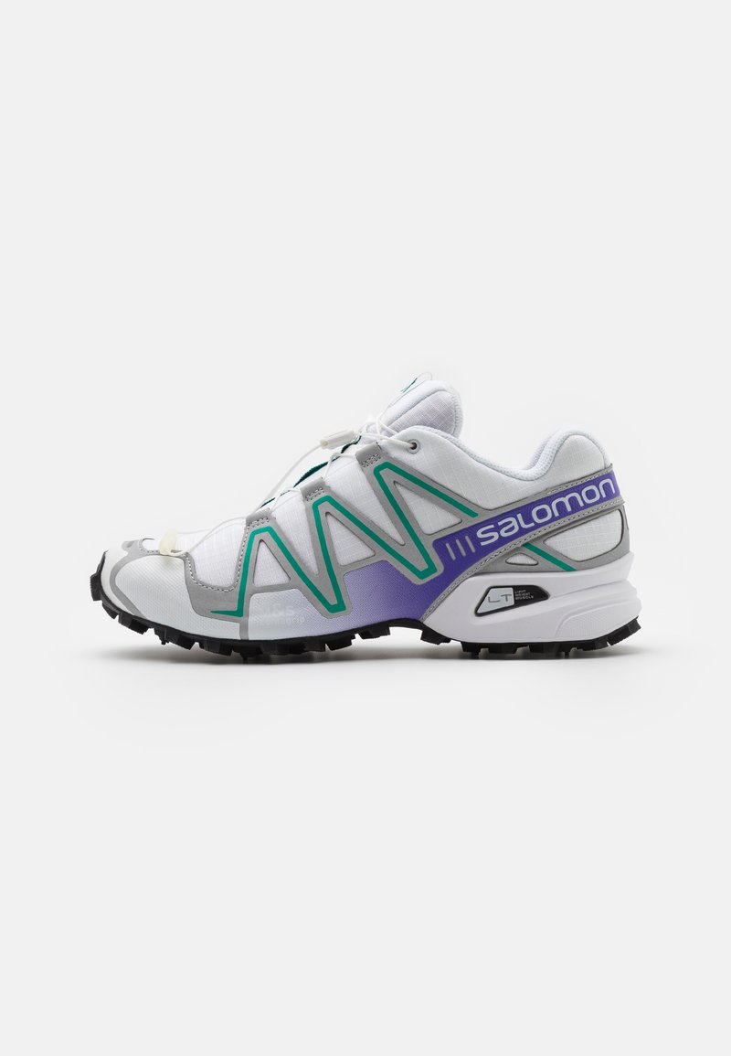Salomon - SPEEDCROSS 3 UNISEX - Trainers - white/silver/parasailing