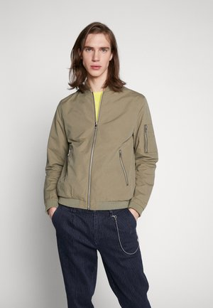 JERUSH - Bomber Jacket - dusky green