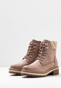 Tamaris - Lace-up ankle boots - rose - 4