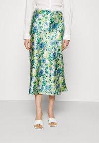 Lindex - SKIRT MEDEA - A-line skirt - blue - 0