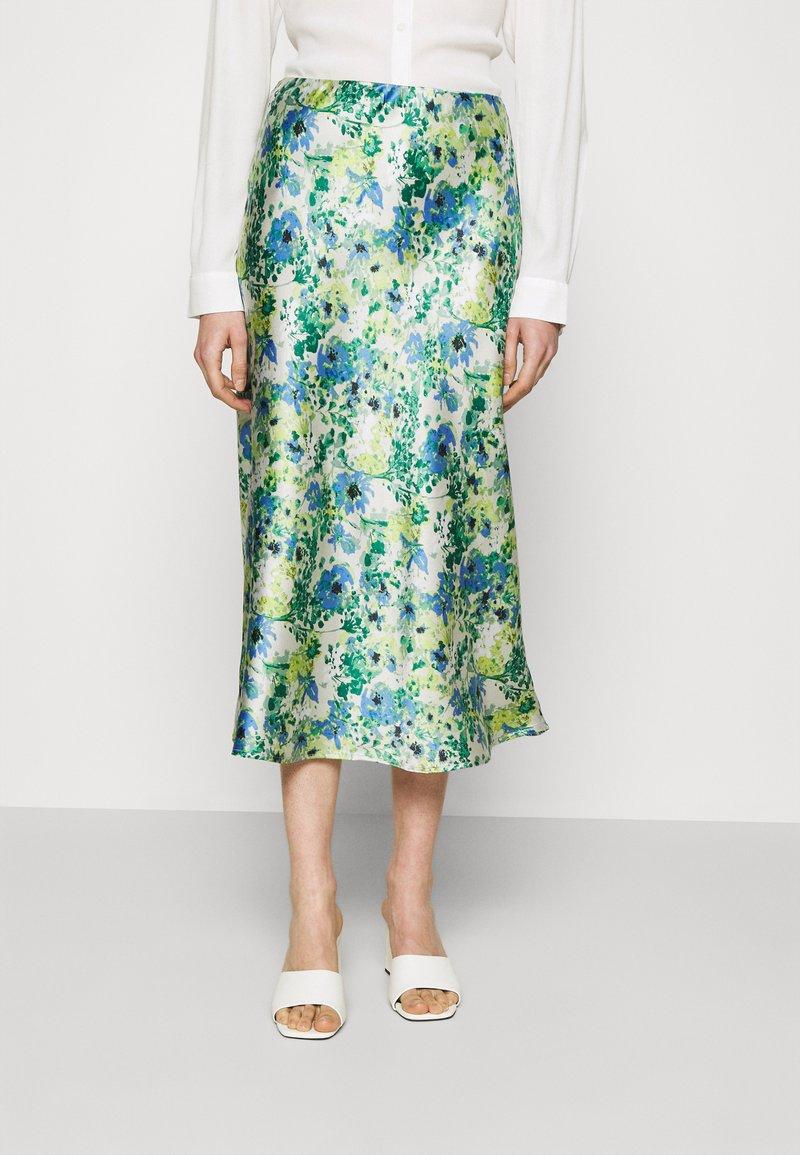Lindex - SKIRT MEDEA - A-line skirt - blue