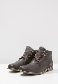 Sneaky Steve - CRASHER - Lace-up ankle boots - brown jamarta - 2