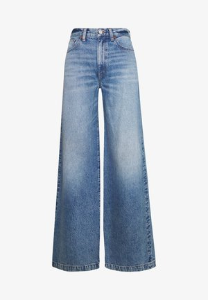 DEVON - Flared jeans - titanic blue