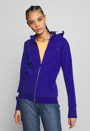 TRACK FIELD ZIPHOOD - Zip-up hoodie - dazzling blue