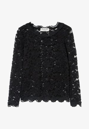T-SHIRT LS - Blouse - black