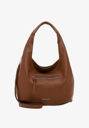 BEUTEL FILIPA - Handbag - cognac