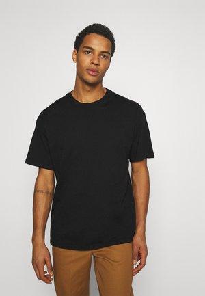 TEE ESSENTIALS UNISEX - Basic T-shirt - black