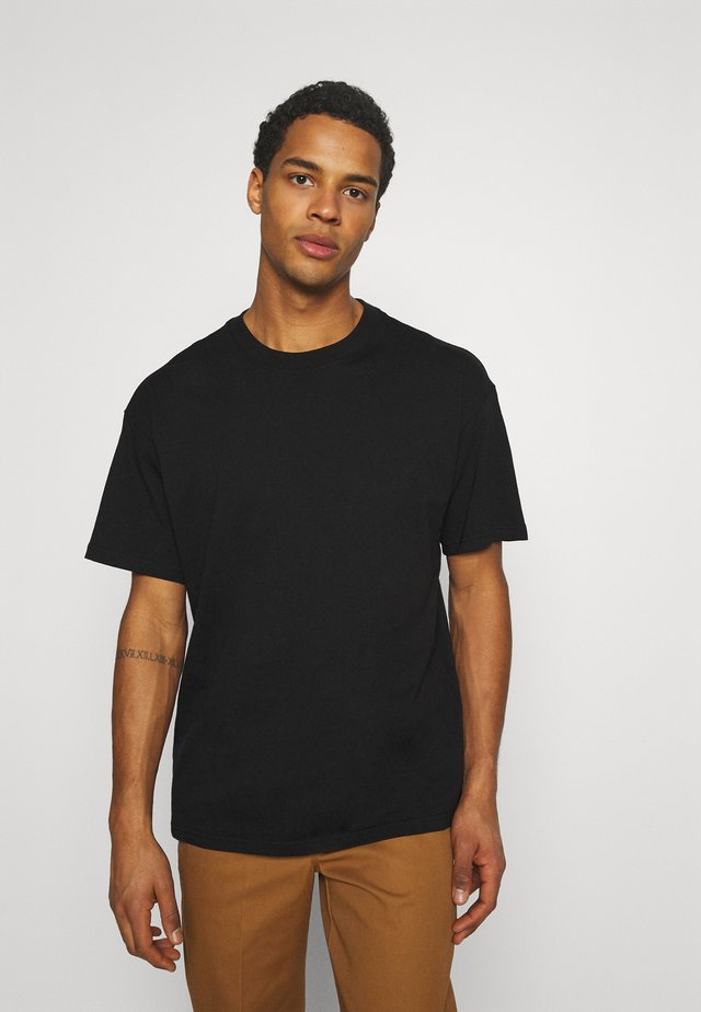 TEE ESSENTIALS UNISEX - T-shirt basic - black