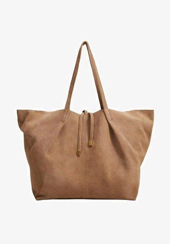 Handbag - lyst pastell brun