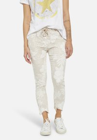 Heartkiss - Trousers - natur print - 0